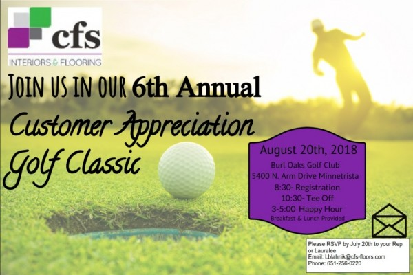 Customer Appreciation Golf Classic